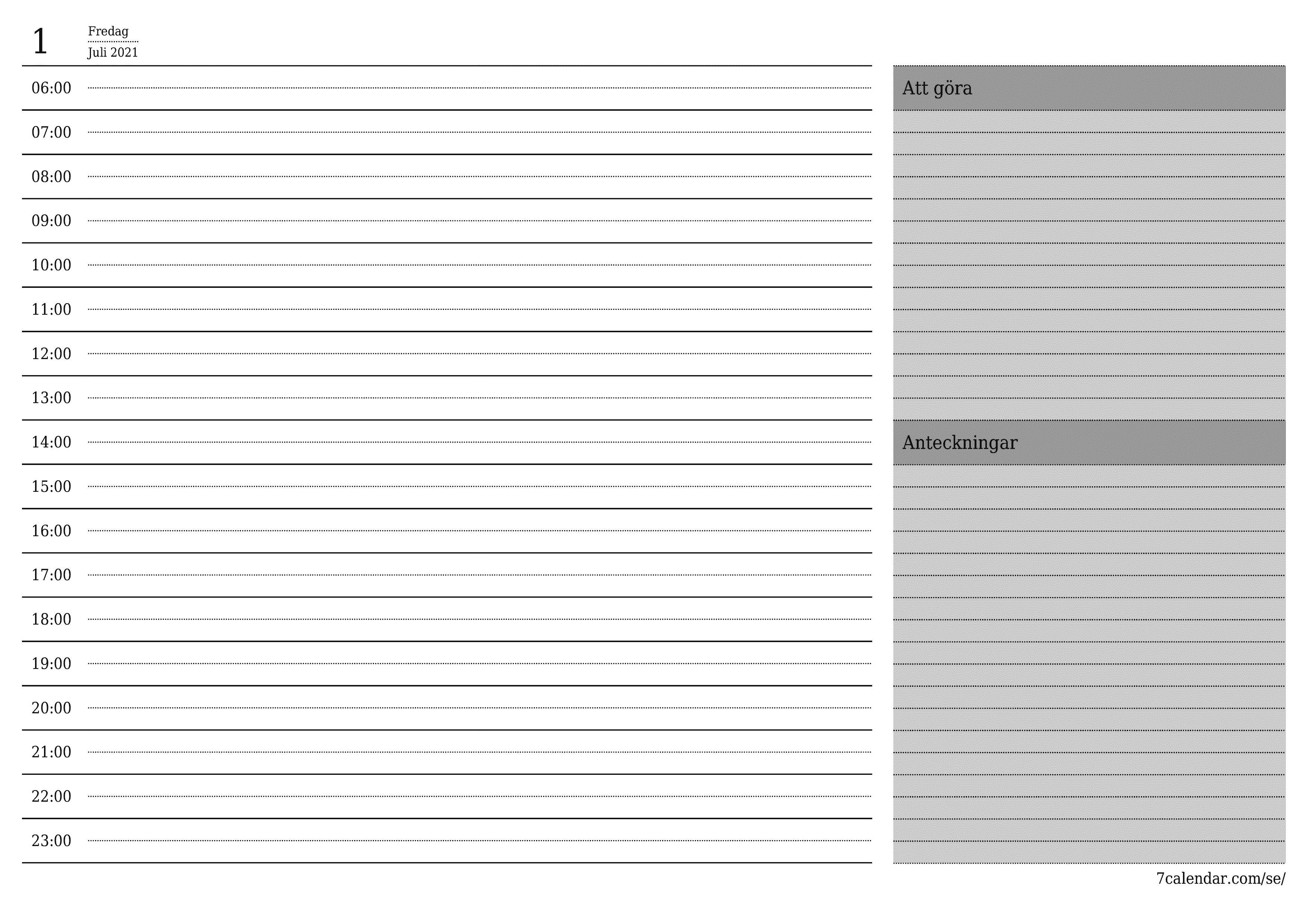Kalender 2021 Skriva Ut - Kalender 2021 2022 Kalendersidan ...