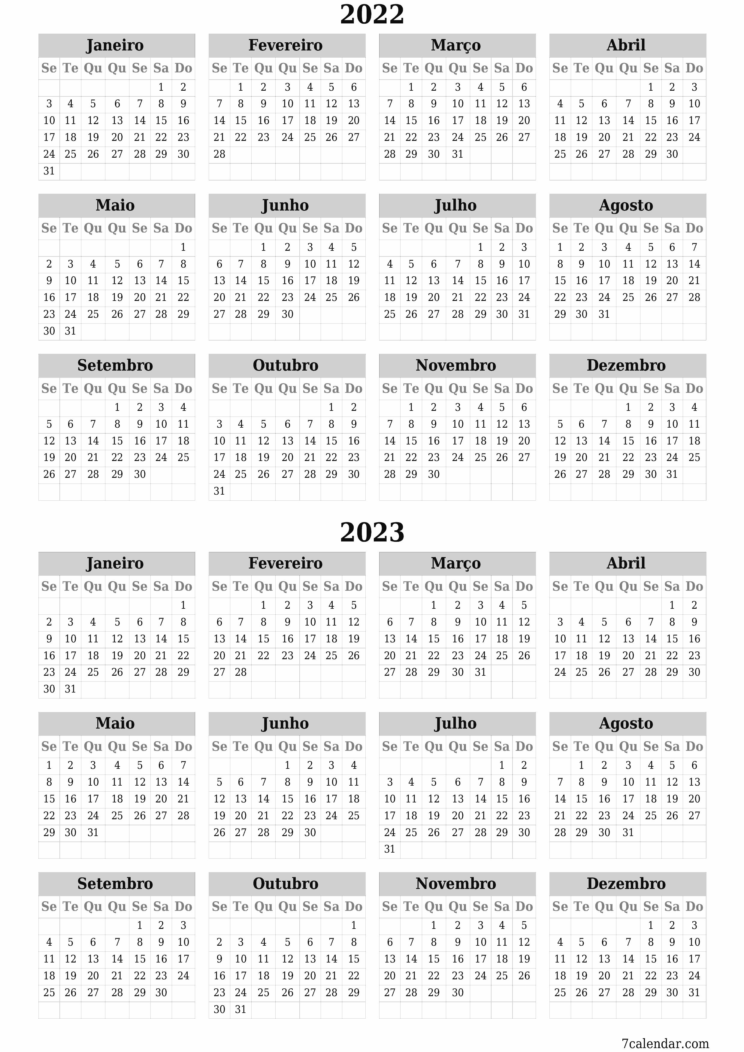 Calendarios E Planejadores Imprimiveis Setembro 2022 A4 A3 Para Pdf E Png 7calendar